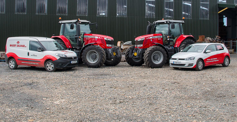 Tractors in for Breaking for Sale Ned Murphy Tractors Ltd
